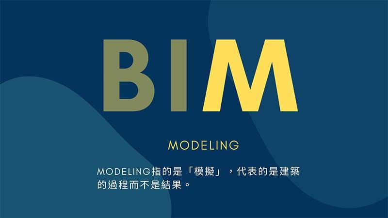 BIM解釋 Modeling