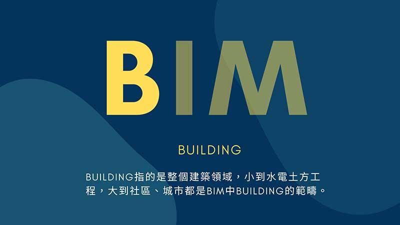BIM解釋 Building
